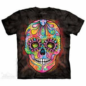 The Mountain Tシャツ Day of the Dead (スカル スケルトン メンズ 男性用 男女兼用) S-L【輸入品】半袖