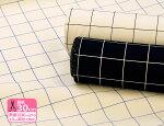 11号(ハンプ)帆布GRIDCHECK/グリッドチェック【キャンバス・生地・布】