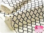 【シーチングプリント・ソフトチンツ加工】【YUWA・有輪商店】モロッカン柄(シンプル)<EuropeanGeometric>カルトナージュに最適な幾何学模様【生地・布】【2015年3月23日新入荷】