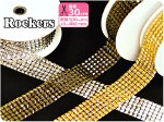 新色ブラック登場!Rockers☆ロッカーズキラキラ輝くピラミッド型スタッズ風テープ【手芸材料・洋裁材料】【2014年10月新入荷】