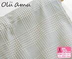 【olu amu】刺し子ドビー・ビッグチェック「縦と横」太い糸で表現されたチェック模様【生地・布】HA-11080-1