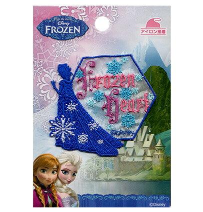裁縫材料, ワッペン・アップリケ DisneyFROZENFrozen Heart1OK