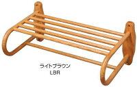 木製バスタオル棚