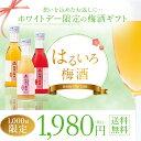 【数量限定】ホワイトデー ギフト 梅酒 中田食品 はるいろ梅酒【送料無料】