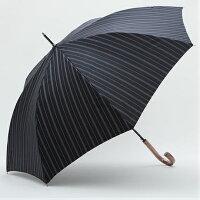 【日本製】先染めジャガードストライプ柄(黒)65cm