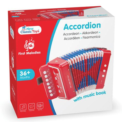 NewClassicToys『accordionredwithmusicbook(10055)』