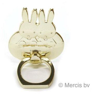 miffy(ミッフィー)スマホリング雲のり(ゴールド)★この商品は日本国内販売の正規品です★《お買い物合計金額6,500円で送料無料》