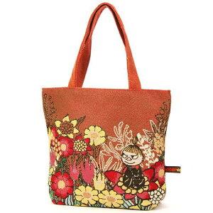 【超特価】ムーミン ゴブラントートバッグ 花と一緒に人気のリトルミイのゴブランシリーズ!♪...