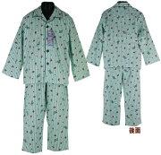 ユニオン ジャック ストライプ ネルシャツパジャマ