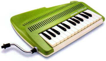 【送料無料】 吹奏鍵盤笛アンデス andes25F グリーン【お取り寄せ】