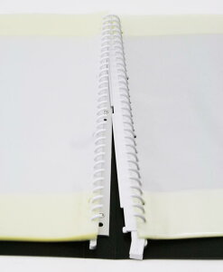 遂に登場!!ルーズリーフバインダータイプバンドファイルA4版バインダー+30枚50枚(100ページ)まで増やせる!!