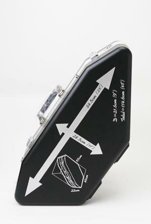 サックス用 飛行機内持込みケース NONAKA スカイケース アルトサックス&ソプラノサックス用 ...