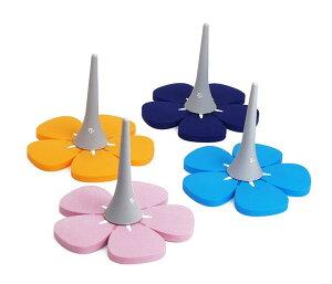 クラリネットスタンドRoiロイシリコンフラワースタンド【選べる4色】ピンク・パープル・スカイブルー・オレンジステージを華やかに彩るクラリネットスタンド!
