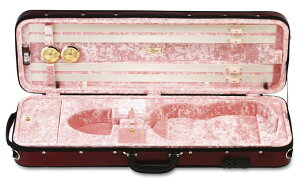 LANG(ラング)バイオリンケースLP-53バーガンディ/ピンク