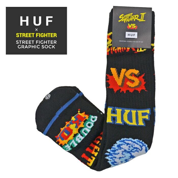 靴下・レッグウェア, 靴下  HUF STREET FIGHTER ( ) GRAPHIC SOCK SK00636 RCP