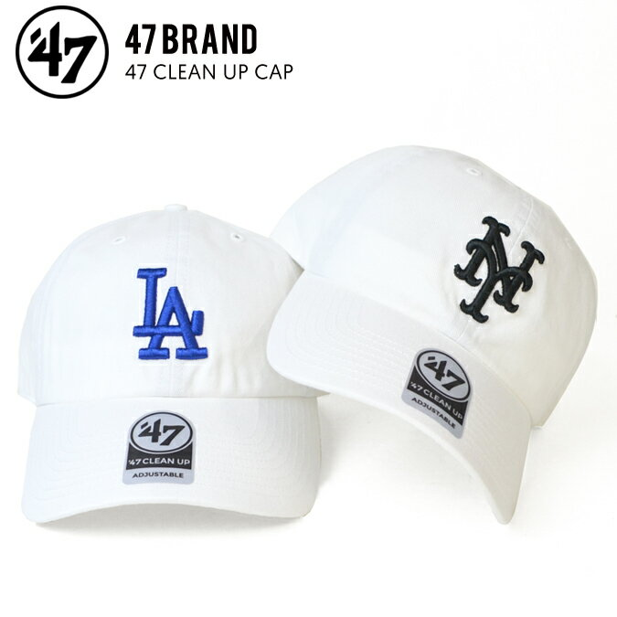 メンズ帽子, キャップ  47 () DODGERS METS 47 CLEAN UP CAP RCP