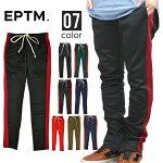 EPTM(エピトミ)TECHNOTRACKPANTSトラックパンツジャージラインパンツ裾ジップメンズスリム【あす楽対応】【RCP】