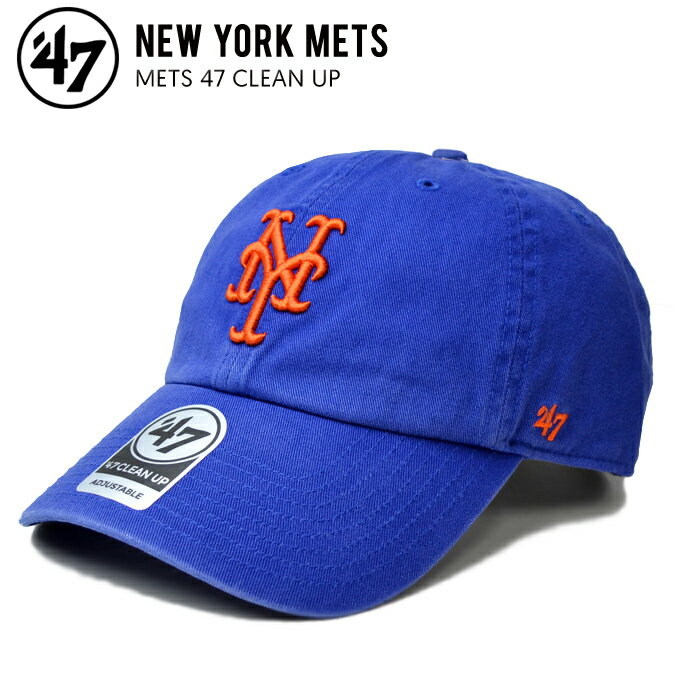 メンズ帽子, キャップ  47 () METS 47 CLEAN UP CAP ROYAL RCP