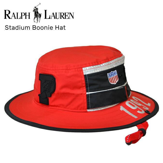 【割引クーポン配布中】 POLO Ralph Lauren (ポロ ラルフローレン) Stadium Boonie Hat Cap ハット ブーニーハット ミリタリー Winter Stadium メンズ レディース ユニセックス 【あす楽対応】【RCP】