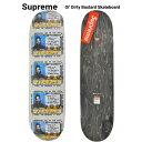 【割引クーポン配布中】 Supreme (シュプリーム) スケートボード デッキ Ol' Dirty Bastard Skateboard メンズ レディース ストリート スケート SUPREME 【あす楽対応】【RCP】