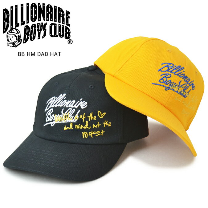 メンズ帽子, キャップ  BILLIONAIRE BOYS CLUB () BB HM DAD HAT 6 6-PANEL CAP 891-8804