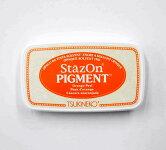 ステイズオン・ピグメントStazOnPIGMENT橙色オレンジピールorangeインク速乾溶剤性・顔料系インク速乾性SZ-PIG-071スタンプはんこツキネコtukinekoこどものかおKODOMONOKAO(メール便可!!)