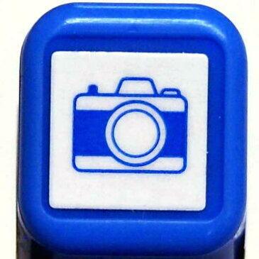 スケジュール浸透印スタンプ はんこ 0556-520 カメラ かめら 📷 camera ブルー 青 こどものかお KODOMO NO KAO (メール便可!!)