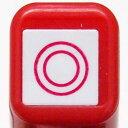 NEW!! スケジュール浸透印スタンプ はんこ 0556-636 ◎ 二重丸 よくできました チェック レッド 赤色 red こどものかお KODOMO NO …