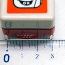 スクール浸透印 スタンプ はんこ H:0619-007 school self-inking stamp 顔 POINT 重要! 指 手 眼鏡 学校 会社 レッド こどものかお KODOMO NO KAO (宅急便のみ配送可!!) 3