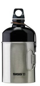マイボトルを持ち歩こう♪シンプルなトラベラーキャップ珍しい楕円型シグボトル+カップSIGG シ...