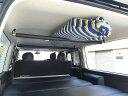 加工なし!200系ハイエースSGL 廉価版 車内キャリアボードラック