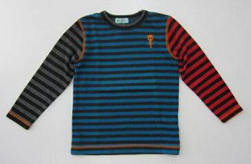 セール40%OFF (メール便可)【hakka kids】[ハッカキッズ] ボーダー長袖Tシャツ (140cm 150cm) (男の子) [長袖Tシャツ] (02953133)SALE