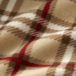 (送料無料)【ミキハウス】マント【ミキハウス】イカリマーク☆フリースベビーマント〈フリー(70cm-90cm)〉(13-3804-843)[MIKIHOUSE]日本製ケープ【出産祝い・ギフトに】