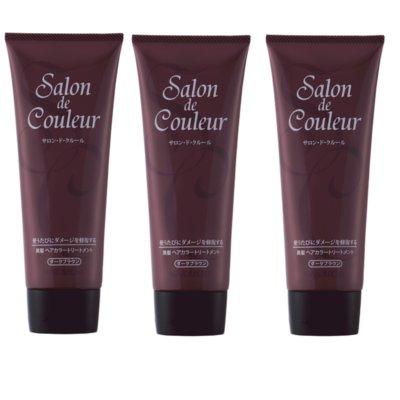 Salon de Couleur(サロン・ド・クルール) ダークブラウン 200g(毛染め)3本【送料無料】[p10]】 トリートメントで白髪染め!ダメージケアしながら しっかり染まる