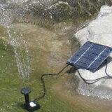 【送料無料】ソーラーパネルで省エネ仕様 池でも使えるソーラー池ポンプ◇H4009■電気代0円■太陽の力を利用して、水を噴き上げるソーラー噴水セット■ガーデニングや、お庭のアクセントにどうぞ