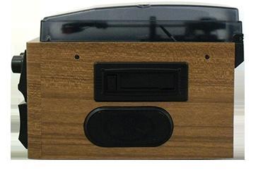 DEARLIFE マルチレコードプレーヤー RTC-29 レコード/CD/ラジオ&カセット搭載多機能プレーヤー 1台でマルチに再生!簡単デジタル録音!RTC29
