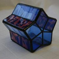 ステンドグラス小物・キャンドルホルダーKM31