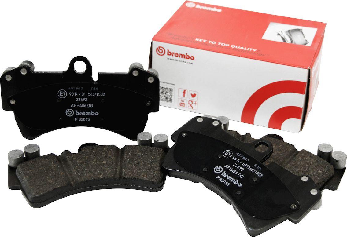 brembo(ブレンボ) ブレーキパッド ブラック リア PORSCHE BOXSTER(987) 07/12-08/10 品番:P65 008