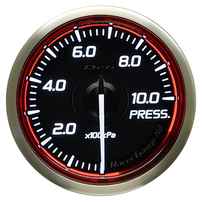 メーター, 油圧計 Defi() Racer GaugeN2 52 DF16203