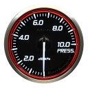 Defi(デフィ) Racer GaugeN2 φ60 圧力計 レッドモデル 品番...