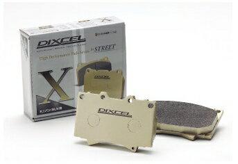 DIXCEL ディクセル Xタイプ リア左右セット マツダ MPV LY3P 06/02〜 [ブレーキパッド] X355286
