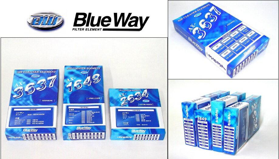 BlueWay エアフィルター 【ホンダ フィットシャトル GG7 L15A 11.6-15.3 】 品番:AX-5674