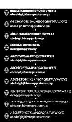 切文字フォントステッカー【アルファベット】【1.5cm〜5cm】防水/屋外/名前/表札/ポスト/車/文字シール/文字ステッカー/スーツケース/蛍光文字/ローマ字シール/カッティングシート/数字/フォント/送料無料
