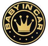 baby in car マグネット ステッカー 王冠 赤ちゃんが乗っています シール カッティングステッカータイプ 赤ちゃんが乗ってます 車 kids child キャラクター ベビーインカー かわいい おしゃれ 楽天 通販 フォトジェニック インスタ 防水【送料無料】