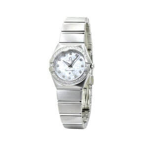 Omega OMEGA Constellation Blush 12P Diamond Diamond Surrounding Ladies Watch Watch 123 15 24 60 55 005 White Shell Dial