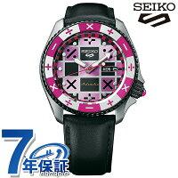 セイコー5スポーツジョジョの奇妙な冒険黄金の風トリッシュ・ウナ流通限定モデル腕時計SBSA033ジョジョ時計