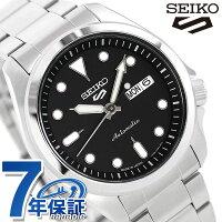 【替えベルト付き♪】 セイコー 5スポーツ 日本製 自動巻き 流通限定モデル メンズ 腕時計 SBSA045 Seiko 5 Sports ソリッドボーイ スポーツ ブラック【あす楽対応】