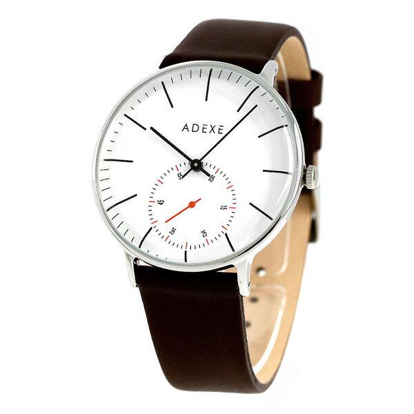 アデクス ADEXE ユニセックス スモールセコンド 41mm 1868B-03 腕時計 グランデ 時計