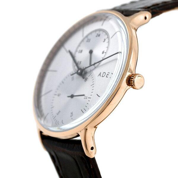 アデクス ADEXE ユニセックス スモールセコンド 41mm 1868C-03 腕時計 グランデ 時計【あす楽対応】