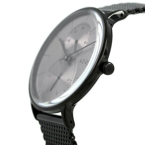 アデクス ADEXE ユニセックス スモールセコンド 41mm 1868C-04 腕時計 グランデ 時計